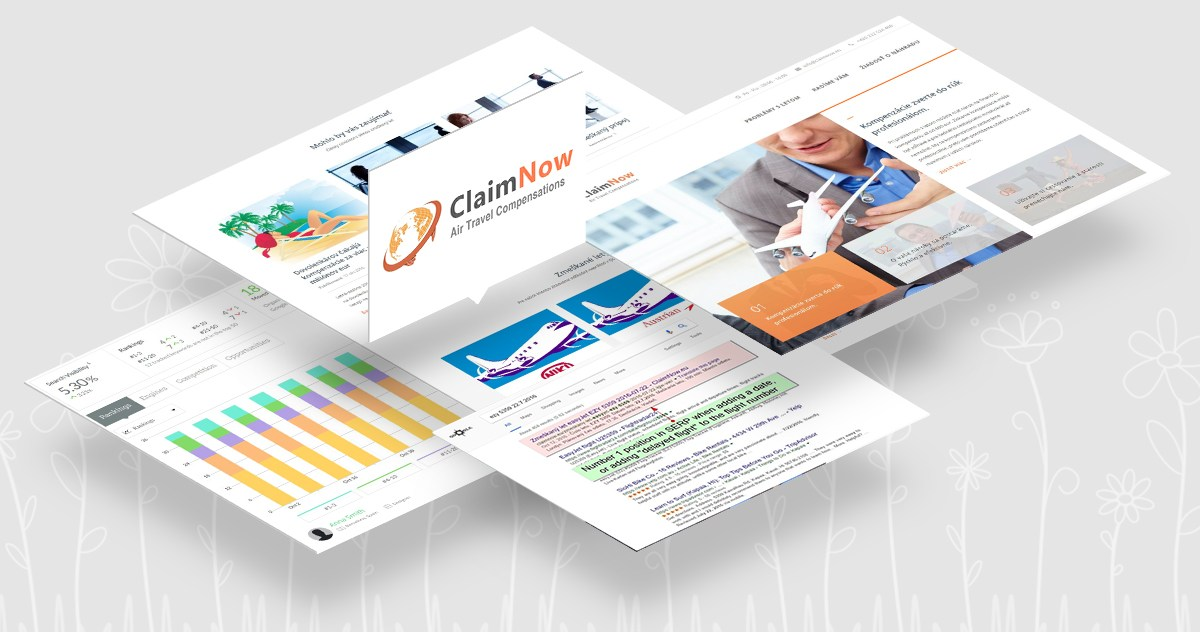 Catnapweb - Case Studies - SEO for Claimnow Featured Image