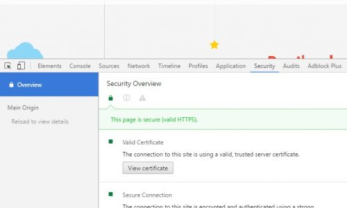 How to configure HTTPS for WordPress site - Detailed information on security