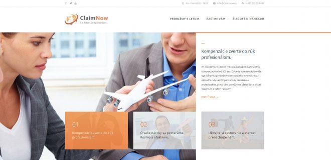 Catnapweb References - SEO for Claimnow.eu - Claimnow.eu Homepage Top
