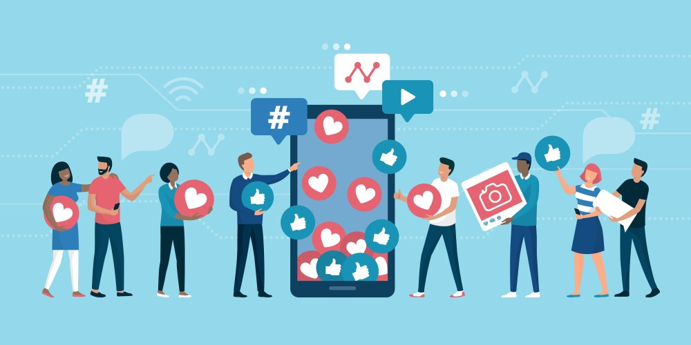 Social media engagement as a KPI in SMM